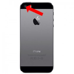 iPhone 5s bagkamera reparation