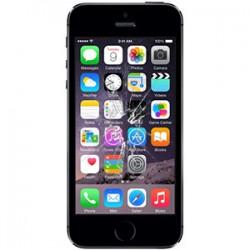 iPhone 5S Glas reparation Sort, BG