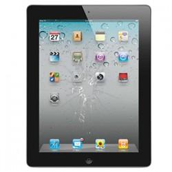 iPad 2 Glas reparation Sort, OEM