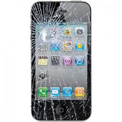 iPhone 4S Glas reparation Sort, OEM