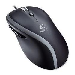 LOGITECH Mouse M500 Black - Laser - Cont