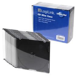 LogiLink slim Jewelcase 10 stk.