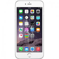 iPhone 6S Plus Glas Reparation Hvid OEM