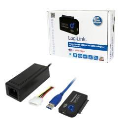 Logilink USB 3.0 til SATA m PSU