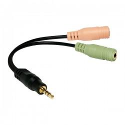 Logilink headset til smartphone adapter