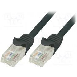 LogiLink CAT6 UTP kabel 0,25m Sort