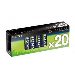 SONY battery AM3-M20X 20 pack 1.5V Blue