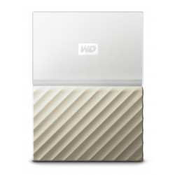 WD EXT My Pass Ultra 1TB White Gold
