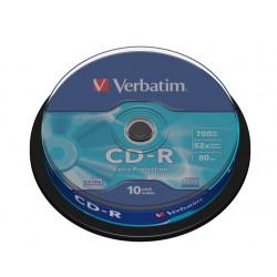 Verbatim - 10 x CD-R - 700 MB ( 80 min )