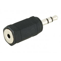 3.5mm - 2.5mm Jack M-F Adapter