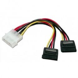 Digitus dobbelt SATA 1.0 strøm-adapter