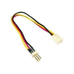 MicroConnect Power 3pin - 3pin 0,2m M /
