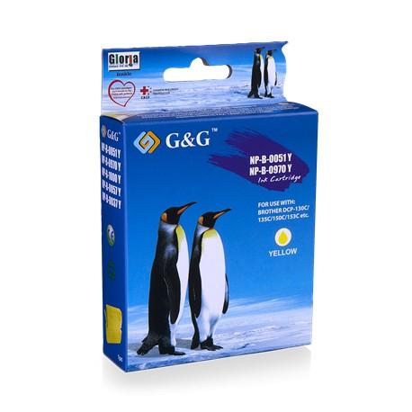G&G kompatibel Brother LC970Y/LC1000Y