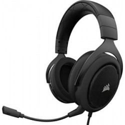 CORSAIR HS50 Stereo Gaming Headset Carbo