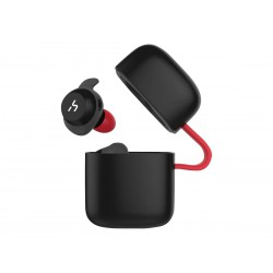 Earbuds with wireless charging function