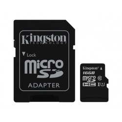 KINGSTON microsSD 16GB Canvas Select Cla
