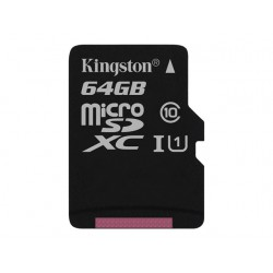 KINGSTON microsSD 64GB Canvas Select Cla