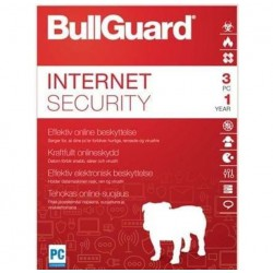 BullGuard Internet Security 3devices 1ye