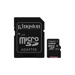 KINGSTON microsSD 128GB Canvas Select Cl