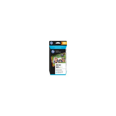 HP 303 Photo Value Pack Sort & Farve pat