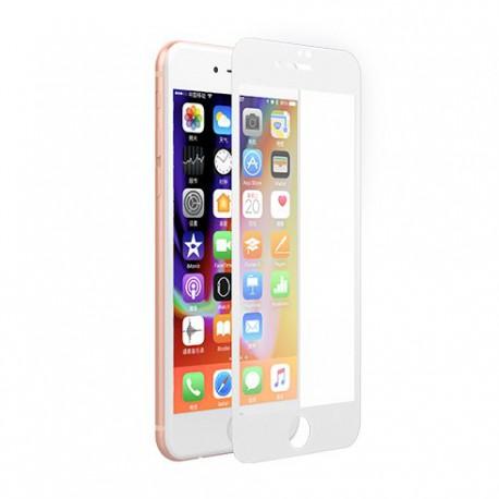 Devia iPhone 7/8Plus Panserglas Hvid
