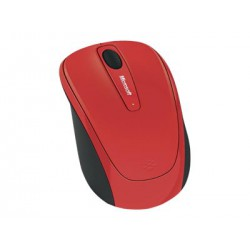 Microsoft Wireless Mouse 3500 red