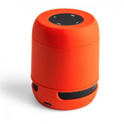 USB Bluetooth speaker orange Wireless/SD