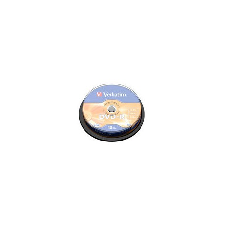 Verbatim - 10 x DVD-R - 4.7 GB 16x spind