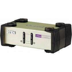 ATEN 2 port PS2/USB KVM, Konsol