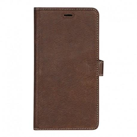 Essentials iPhone X/XS, Læder wallet aft