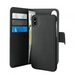 Puro iPhone XS Max, EcoLeather Wallet De