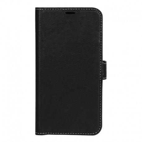 Essentials Huawei P20 Læder Cover Sort
