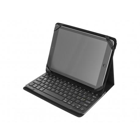 Deltaco TB-137 Bluetooth Tastatur m. cov