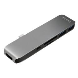 LogiLink USB-C multifunktionel hub