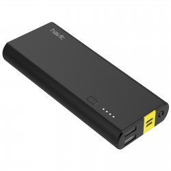 Havit Powerbank Sort 10.000mAh