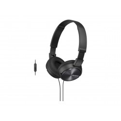 Sony MDR-ZX310 Stereo Headset, Sort