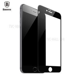 Baseus Panserglas til iPhone 6/6S Sort