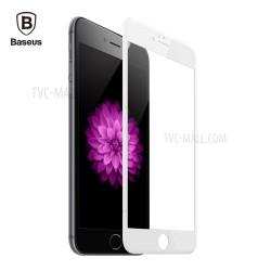 Baseus Panserglas til iPhone 6/6S Hvid