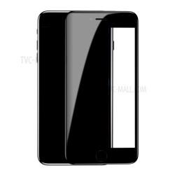 Baseus Panserglas til iPhone 7+/8+ Sort