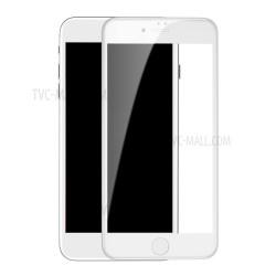 Baseus iPhone 7/8+ Skærmbeskyttelse Hvid