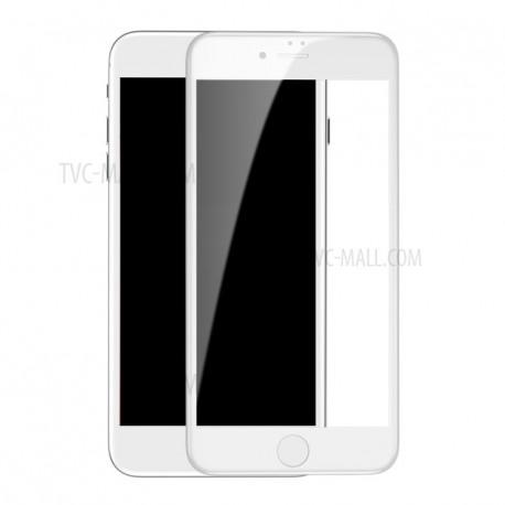 Baseus Panserglas til iPhone 7+/8+ Hvid
