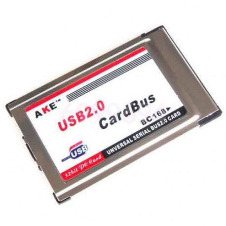 PCMCIA Express kort med 2 port