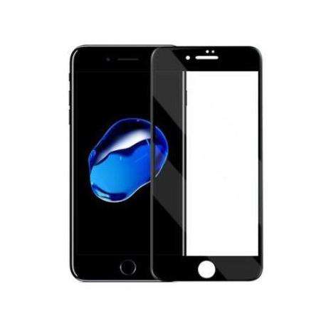 Apple iPhone 7/8 Curved panserglas sort