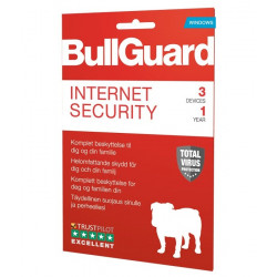 BullGuard Internet Security 2019 1Y/3U