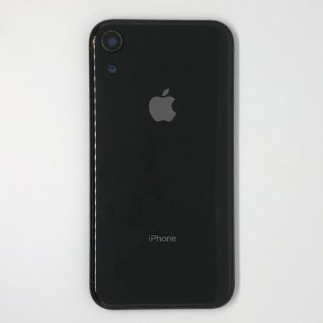 iPhone XR Bagcoverskift Sort