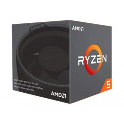 AMD Ryzen 5 2600 Processor 3.4 GHz 19MB