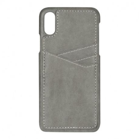 Essentials iPhone X/XS Cover, Grå