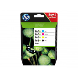HP 963XL 4-pack High Yield Black/Cyan/Ma