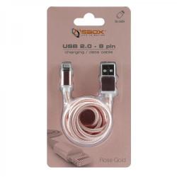 SBOX USB-Micro USB 1,5M Rosa