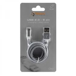 SBOX USB-Micro USB 1,5M Grå